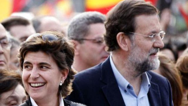 Rajoy y María San Gil, el encuentro que no fue