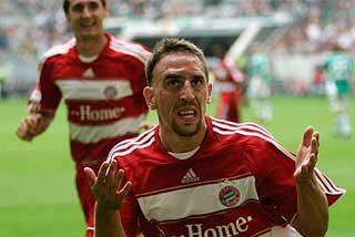 """Ribéry: """"¿Pérez? ¿Quién es Pérez"""""""