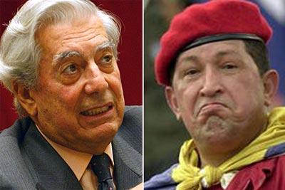 Hugo Chávez se asusta y elude el cara a cara con Vargas Llosa