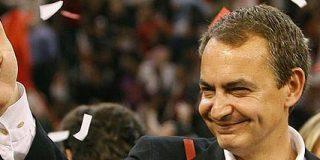 Zapatero el «rojo» en campaña