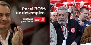 La izquierda rancia se ríe de los parados: los sindicatos ultiman un documento en favor de ZP