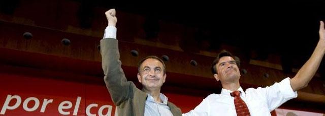 ZP da un 'codazo' a López Aguilar y multiplica sus apariciones en mítines para las europeas