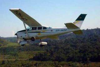 Cazas brasileños interceptan un avión boliviano con 176 kilos de cocaína
