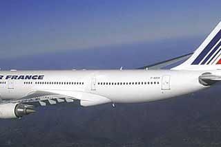 Dos posibles terroristas islamistas en el avión de Air France