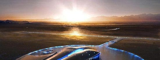 Comienza a construirse este viernes el primer aeropuerto espacial del mundo