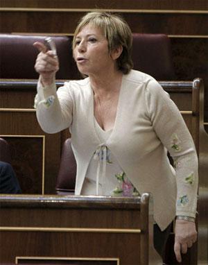 Celia Villalobos se lava las manos en la cuestión del aborto saltándose la consigna de su partido