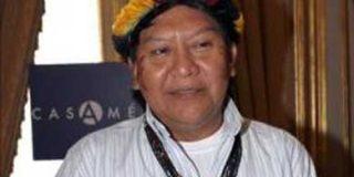 """Líder de la étnia """"Yanomami"""" recibe galardón en Casa América de Madrid"""
