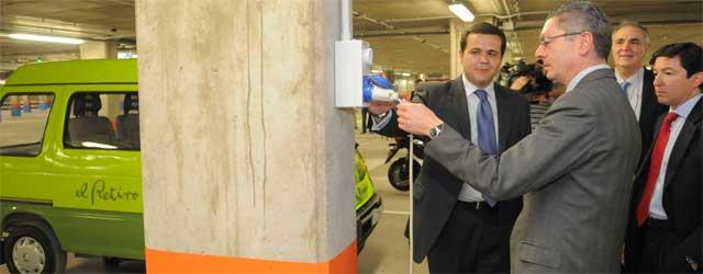 Los aparcamientos de Madrid contarán con sistemas de carga eléctrica