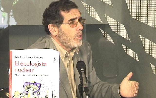 """Juan José Gómez Cadenas: """"Centrales como Garoña están siendo extendidas hasta 50 y 60 años"""""""