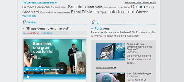 El alcalde de Barcelona se gasta 315.000 euros del ayuntamiento al año en mantener su blog