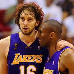 Pau Gasol hace historia y conquista el título de NBA con los Lakers