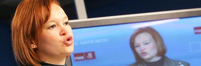 Leire Pajín proclama ahora que Obama le copia las ideas