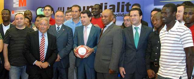 Más de 700 futbolistas de 30 países disputan en la Comunidad el VII Mundialito de la Inmigración