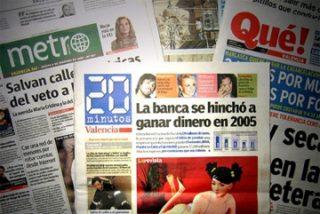 Los diarios gratuitos continúan perdiendo publicidad y en caída libre