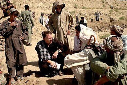 Escapa de los talibanes un periodista norteamericano despues de siete meses de secuestro