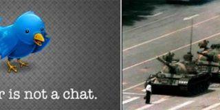 China bloquea Twitter y Hotmail a dos días del vigésimo aniversario de la masacre de Tiananmen