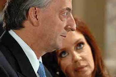 La fortuna del matrimonio Kirchner creció un 158 por ciento en 2008, según la prensa