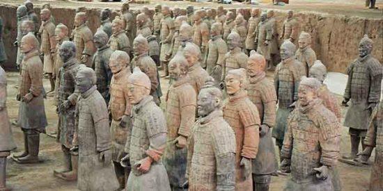 Nuevos reclutas para el gran ejército de terracota chino