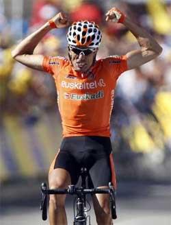 La UCI suspende a Mikel Astarloza por un positivo de EPO