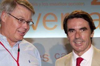Aznar: 'El Gobierno da el dinero de las familias a banqueros incompetentes'