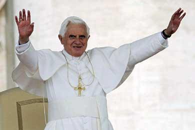 Benedicto XVI, cantante además de Papa