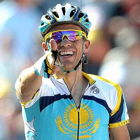 Contador ya es el jefe en el Tour de Francia