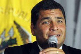 """""""Si Colombia nos agrede nuevamente, la respuesta será militar"""", dice Rafael Correa"""