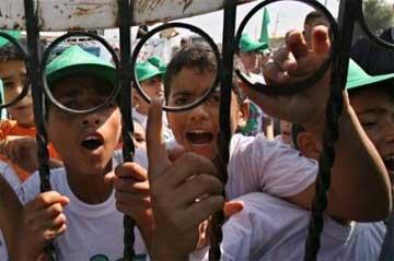 Hamás acusa a Israel de dar chicles afrodisíacos a los niños palestinos