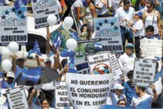 """Un clamor común recorre Honduras: """"No al chavismo"""""""