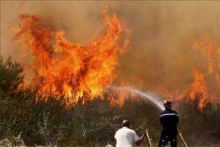 Fallece un bombero en Teruel al sufrir un accidente de tráfico cuando se dirigía a un incendio