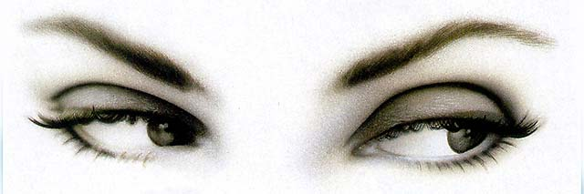 Nuestro cerebro siempre mira primero a los ojos para reconocer un rostro