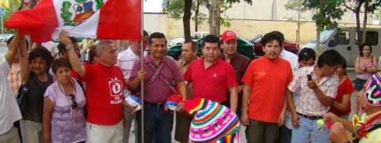 """Ollanta Humala: """"Hay que luchar para que haya libertad de expresión en el Perú"""""""