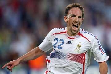 Ribéry podría costar 22 millones el verano que viene