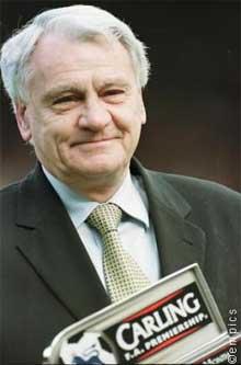 Bobby Robson, entrenador británico
