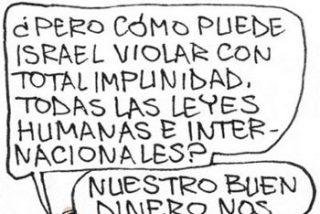 El País, Israel, caricaturas y la miseria que avanza