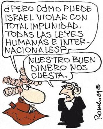 """El embajador de Israel denuncia las viñetas de El País, """"más propias de un fanzine neonazi que de un diario serio"""""""