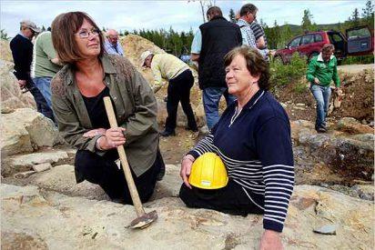 Las abuelas que descubrieron el mayor yacimiento de oro de Suecia cuando buscaban arándanos