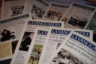 Huelga de firmas en La Vanguardia para protestar por el ERE