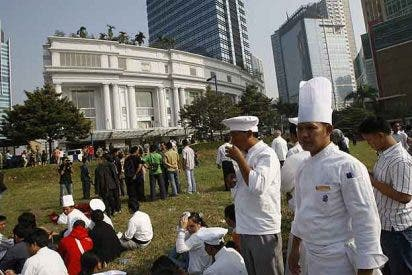 Los dos terroristas suicidas de Yakarta estaban alojados en uno de los hoteles