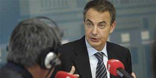 """Zapatero afirma que suprime la publicidad en RTVE para que haya """"más contenidos de servicio publico"""""""