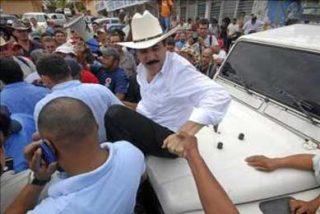 """Zelaya cuestiona que Estados Unidos ya no habla de """"golpe de Estado"""""""