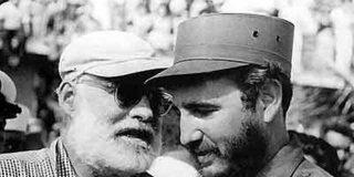 Hemingway fue obligado por EEUU a abandonar Cuba en 1960