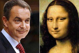 Zapatero y La Gioconda