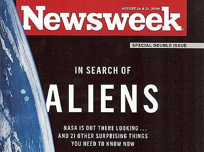 ¡Los extraterrestres existen!... según Newsweek