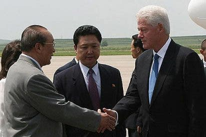 ill Clinton llega a Corea del Norte para mediar en la liberación de dos periodistas estadounidenses