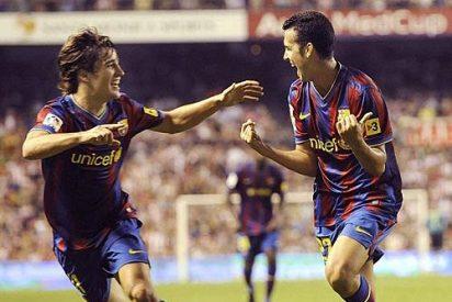 El Barça empieza como acabó... goleando a placer