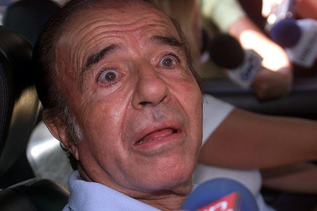 Carlos Menem vuelve a anunciar que será candidato presidencial en 2011
