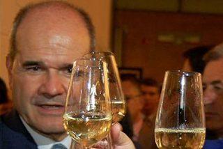 De políticos, percebes y champán