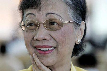 Corazón Aquino, ex presidenta de Filipinas