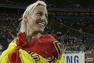 Marta Domínguez, oro en 3.000 obstáculos